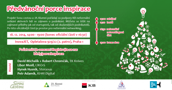 pozvanka xmass workshop